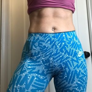 Nike Graphic Workout Pants girls XL or women's S